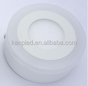 3w Alibaba India Round Double Color Led Surface Mounted Panel Down ...