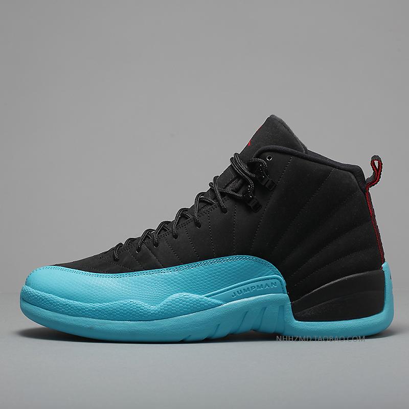 online store 60e54 d2e14 coupon code air jordan 12 womens blue black f8359 a28de
