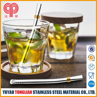 High quanlity Stainless steel tea straw spoon