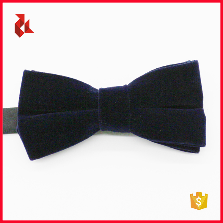Good Price Men's Navy Velvet Bow Ties
