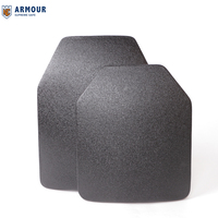 PE and Alumina Ceramic bullet proof backpack insert