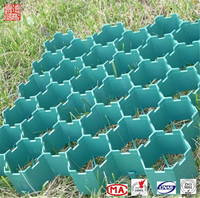 Interlocking plastic floor grass grid for parking Lot pavement