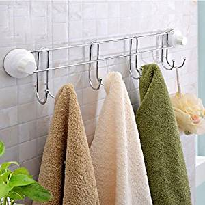 """W&P Powerful suction cup/towels is to hook 605.8 8 12 cm (23.62 """"2.28""""4.72 """")"""