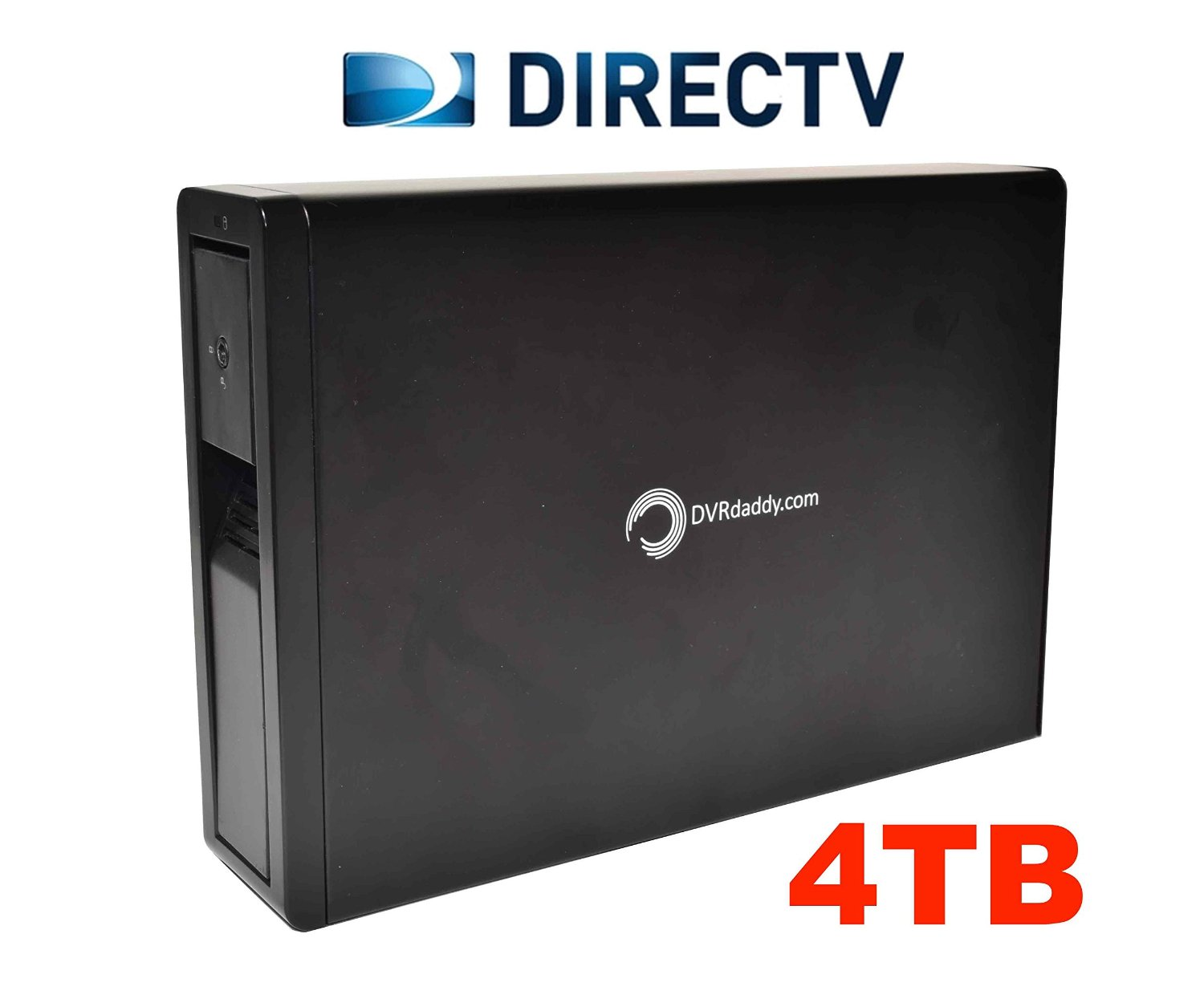 4TB External DVR Hard Drive Expander For DirecTV HR34, HR44 and HR54 Genie DVR. +4,000 Hours Recording Capacity and Free Shipping!