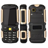 2.4 Inch 3 SIM Card 4500mAh Big Battery Long Talking ALPS M12 CDMA / GSM Dual Mode China Mobile Phone