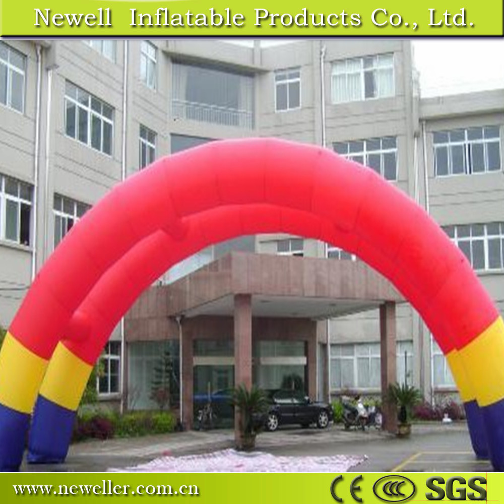 Professional car race arch with LED