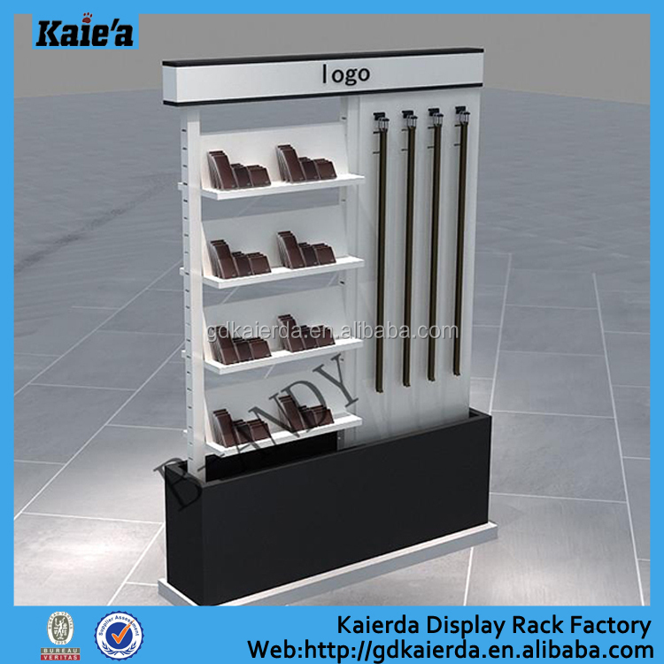 Wholesale Leather Belt Display Stand Leather Wallet Display Belt