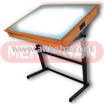 light drafting table mehregan engineering trace light table l - buy