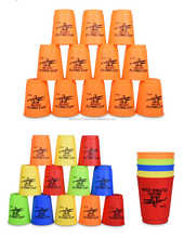 12pcs Magic flying stacked cup Speed Training Sport toys 9.5CMx8x5CM