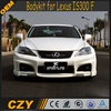 Wald Style Car Bodykits FRP IS300 F Body Kit for Lexus IS300 F