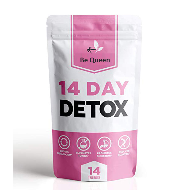 14 Days Detox japanese herbal slimming tea 100% safe without side effects private label slimming tea detox - 4uTea | 4uTea.com