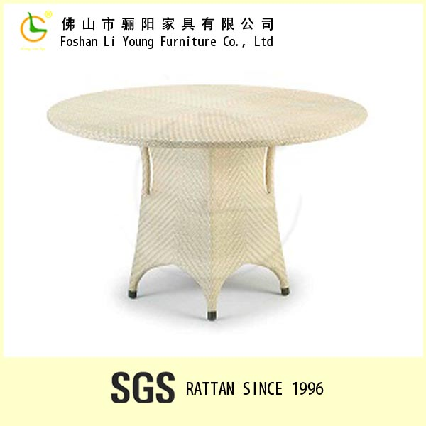 Modern Cheap Patio Dining Furniture Oval Wicker Outdoor Furniture Rattan Garden Dining Table used Dining Room Furniture for Sale