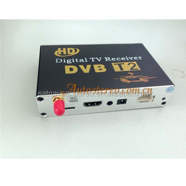 Car Digital Receiver DVB-T2 H.264, MPEG-4, MPEG-2 Car TV Tuner