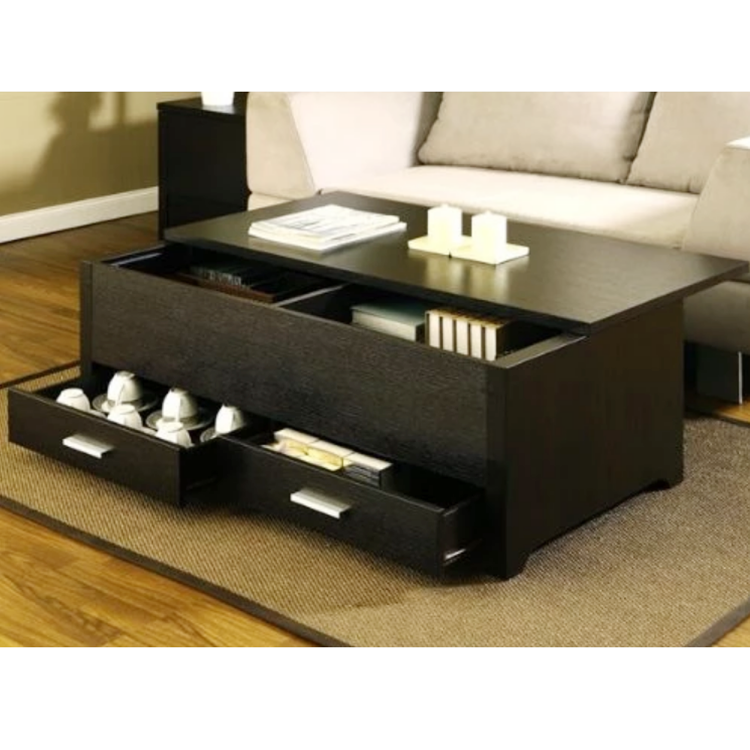 Modern Home Furniture Wooden Lift Top Smart Coffee Table Buy
