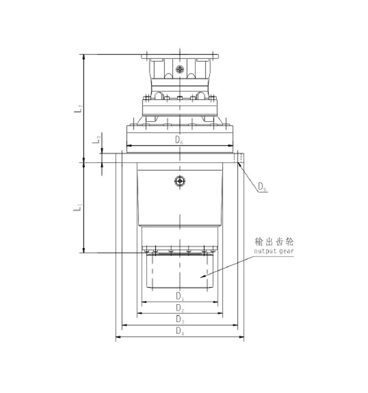 JRPH series planetary gear untis