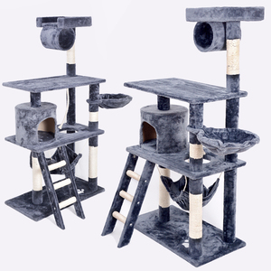 Top Selling Pet Products Factory Cheap House MDF Cat Tower Furniture Cat Tree
