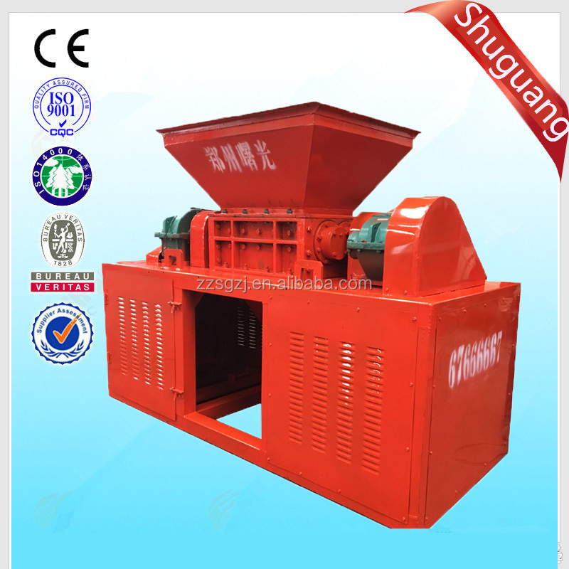 High output tin cans crusher,metal shredder used in recycling area