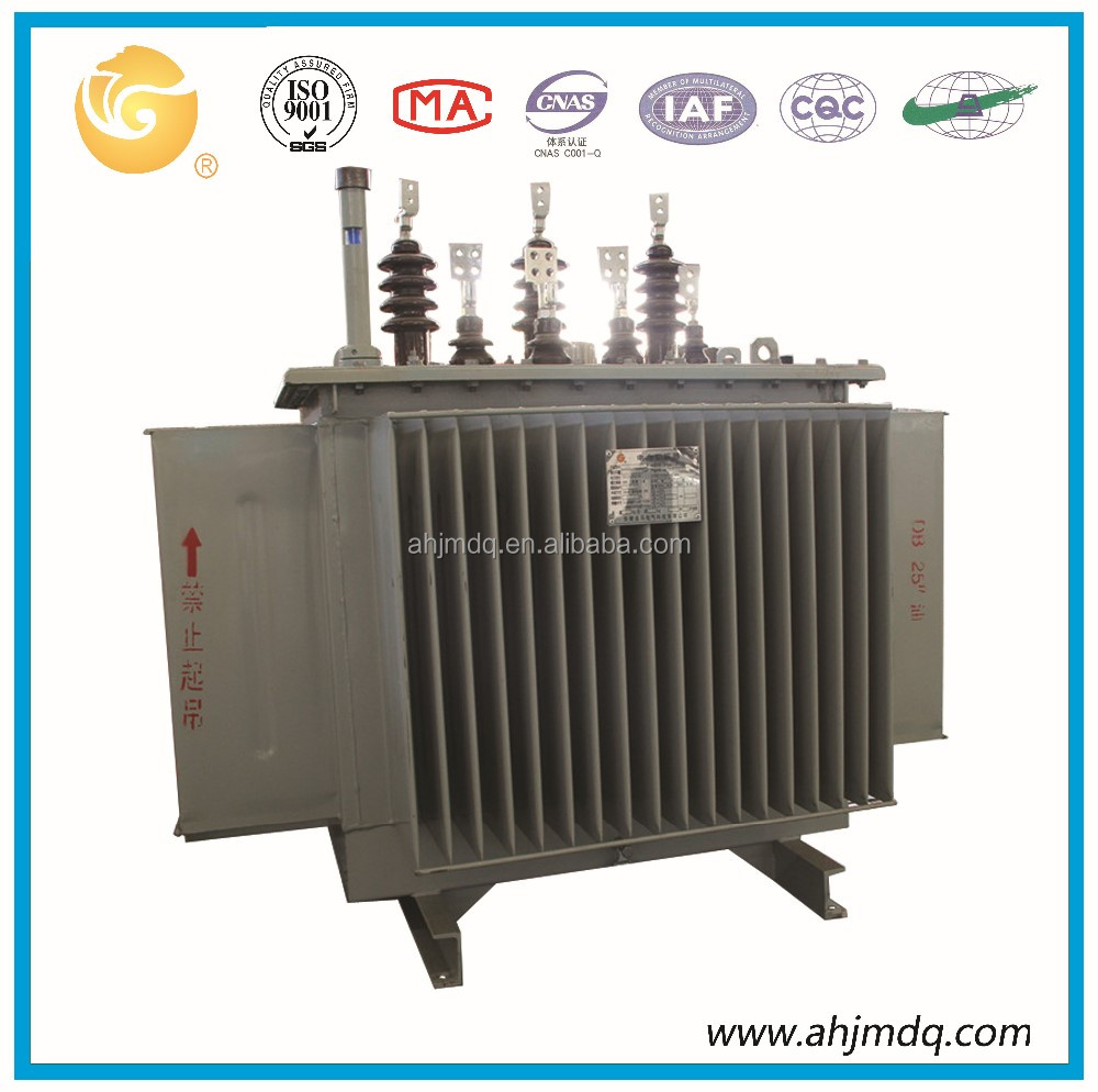 800kva oil immersed 50HZ/60HZ low loss copper winding distribution transformer