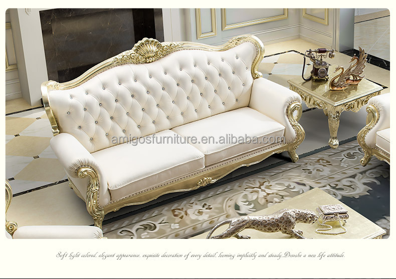 Royal Furniture French Style Luxury Classic European Sofa