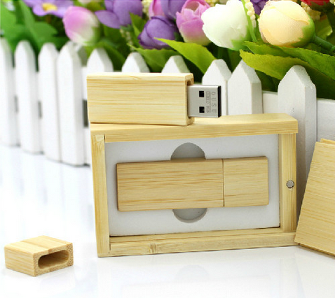 Photography Customer LOGO Wooden usb + gifts BOX