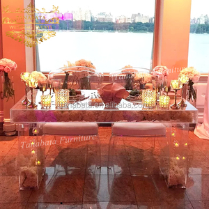 Banquet wedding design event wholesale acrylic tables