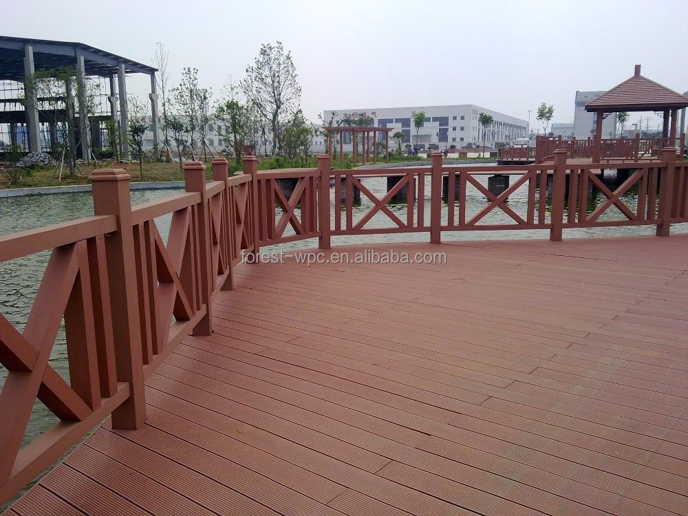 Compuesto pl stico de madera terraza carril compuesto for Muebles de terraza de plastico
