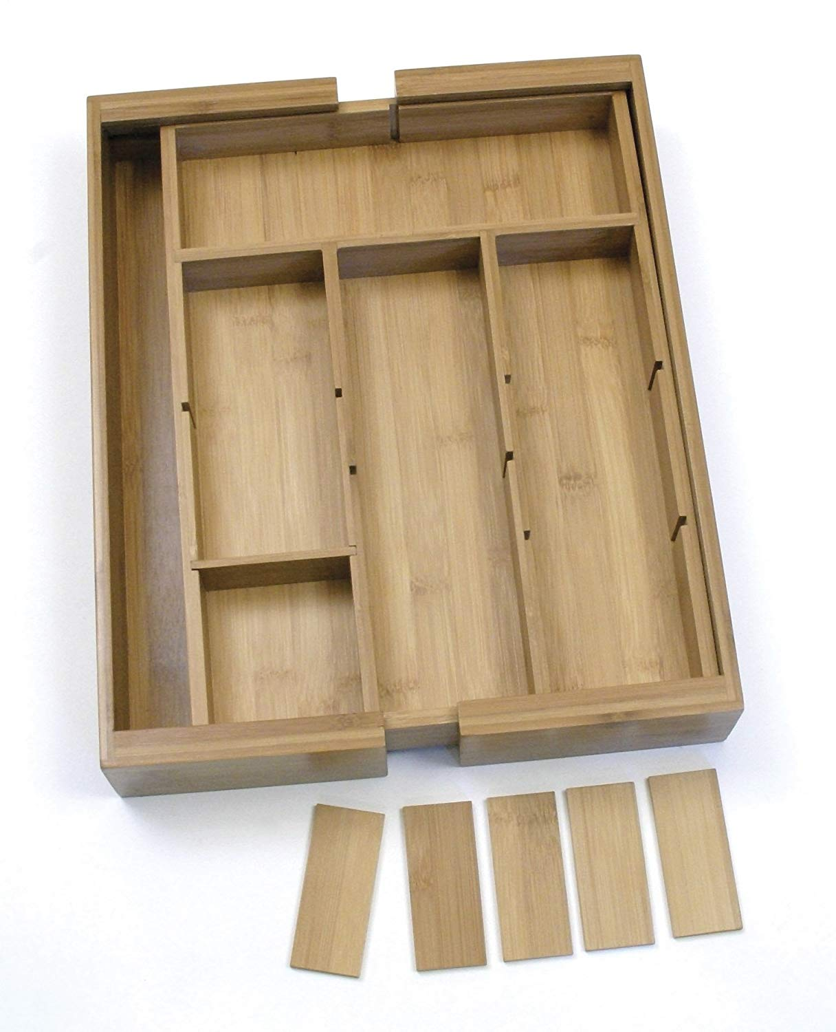 High Quality Bamboo Expandable Drawer Organizer With High Quality Bamboo Drwer Organizer