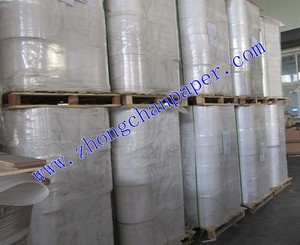 45-100gsm pe coated newsprint paper rolls ,greaseproof, waterproof ,heat seal, FDA Approved