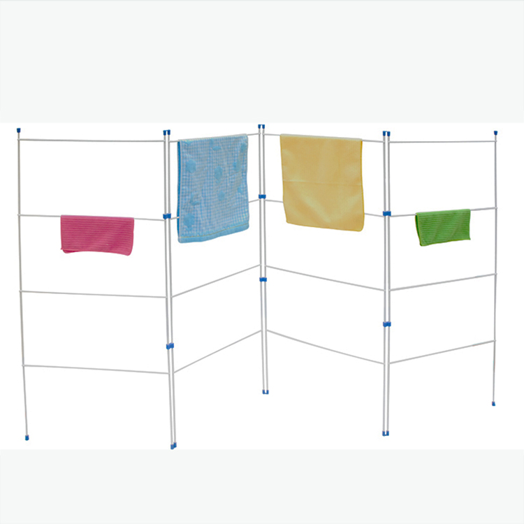 foldable extended clothes hanger Extendable Steel Towel Rack