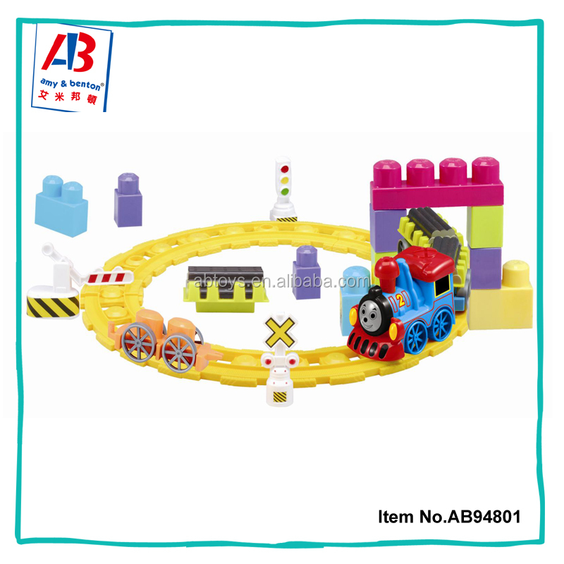 Indoor electric track train sets educational toys for 3 years old