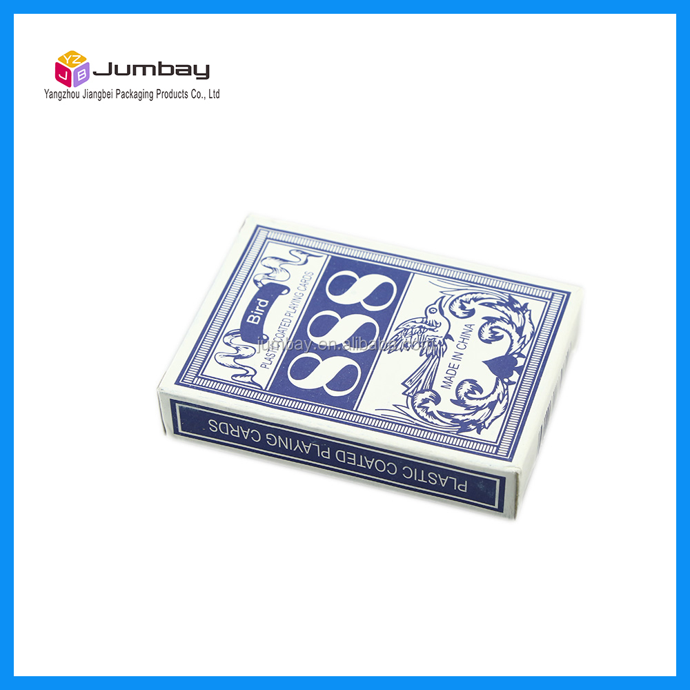 555 playing cards weighted playing cards with company logo