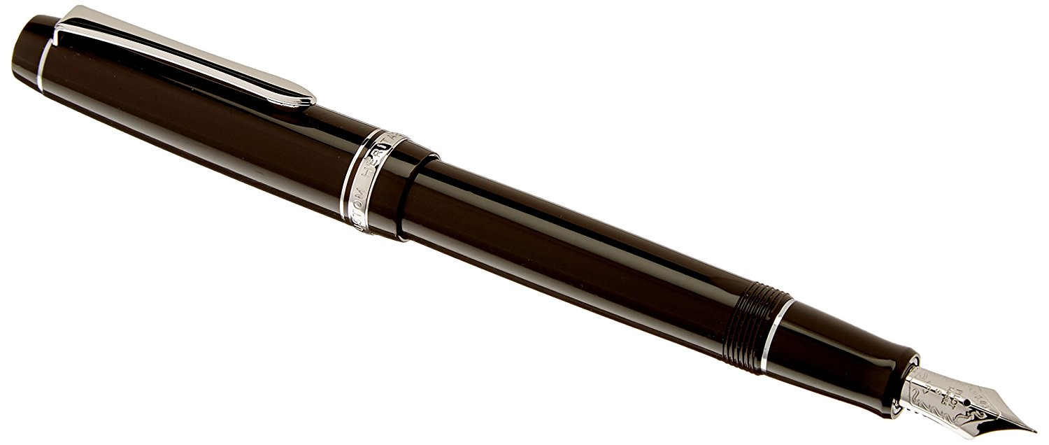 Pilot Fountain Pen Custom Heritage 91, F-Nib, Yamaguri Body (FKVH-1MR-YGF)