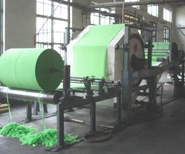 dyeing color paper machine