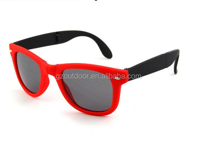 Venta Caliente De Plástico Marco Plegable Pc Fda Gafas De Sol ...