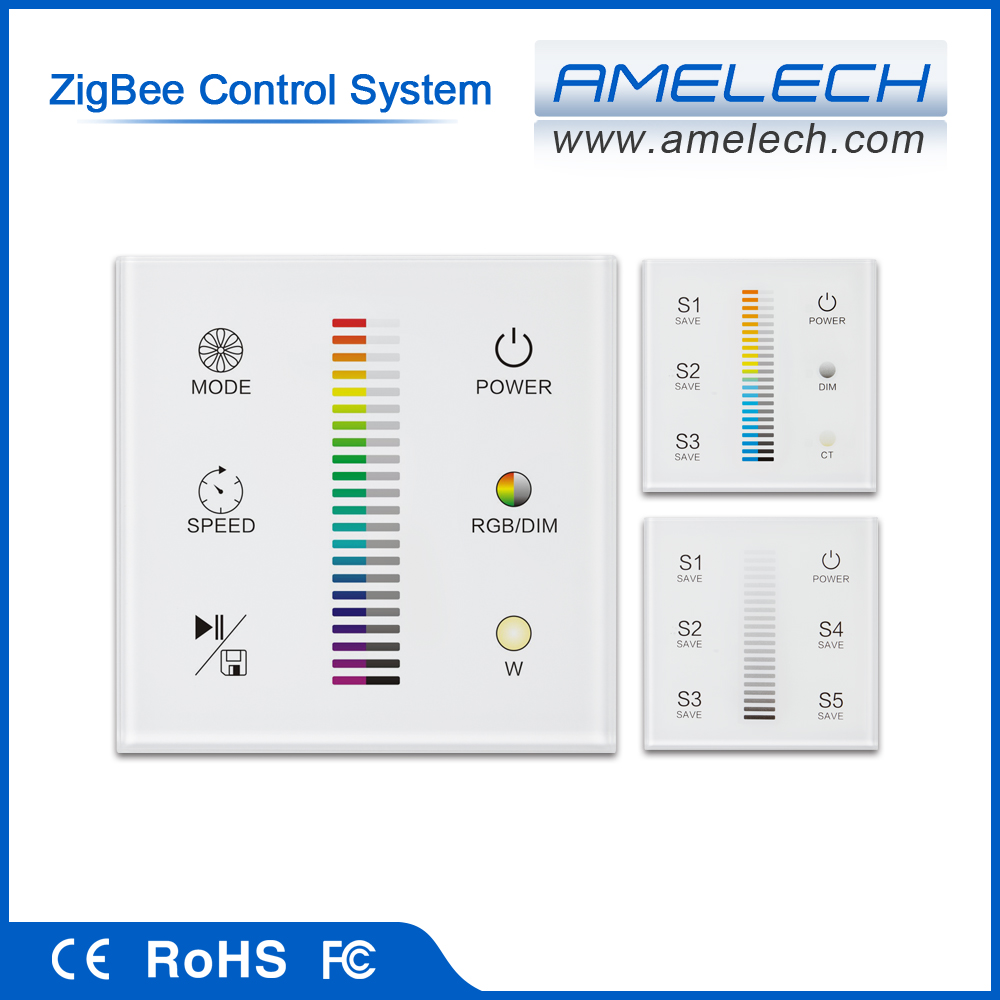 With Touch Switch Zigbee Intelligent Wifi Smart Home Automation ...