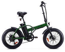 2018 New Model Fat Mountain Electric Bike / 250W Cheap Fat Foldable Mountain Electric Bike for Adult