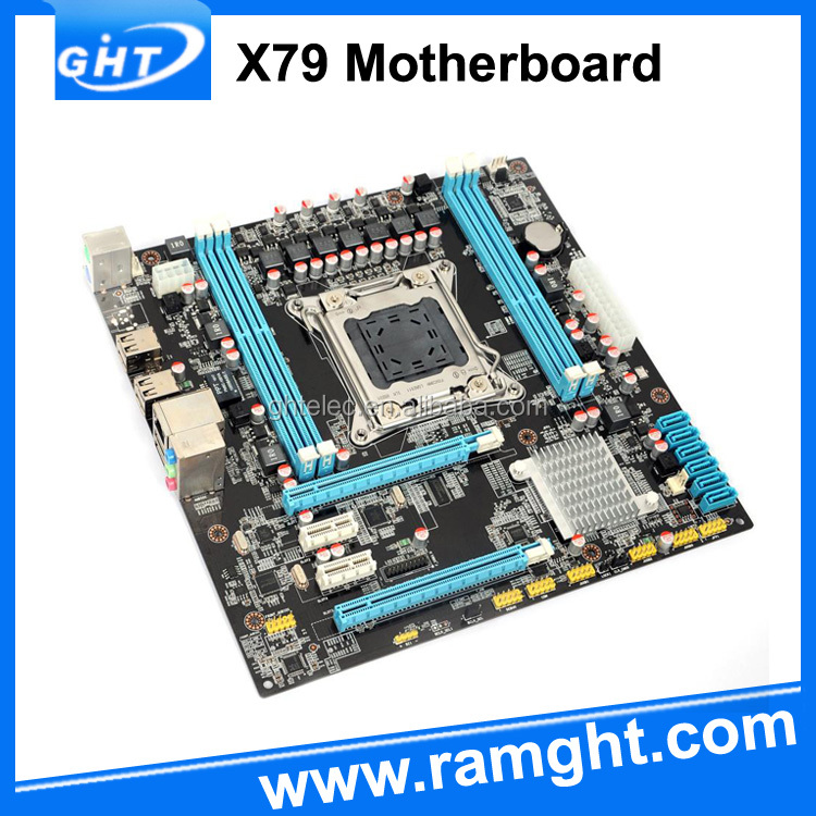 Desktop Lga2011 Socket Ddr3 Memory X79 Intel Socket G2 Motherboard ...