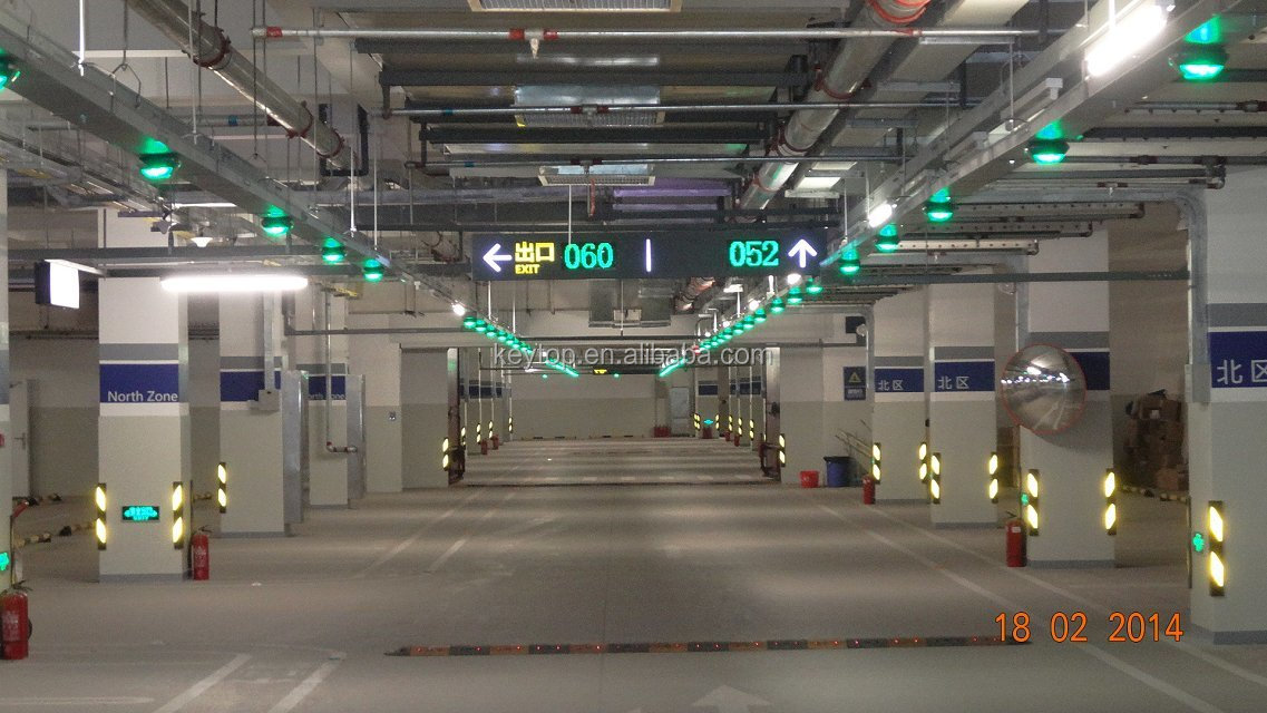 Parking Guidance System With Car Led Lights(singapore Changi ...