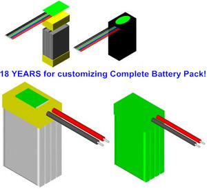 Li ion Polymer Battery Pack Solution