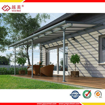 Superbe Yuemei Polycarbonate DIY Aluminum Patio Cover
