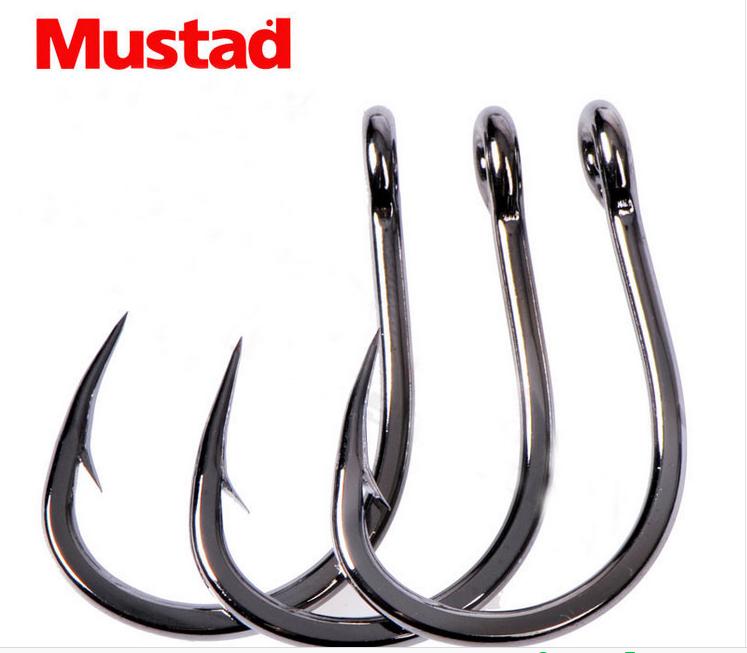 Mustad 35647 Black Nickel Round Bend Treble Hook Bass Trout /& Walleye Lure Hook