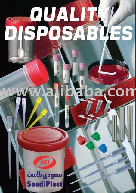 Productos desechables de laboratorio, Contenedores, Platos de petri, Sangre collectioin tubos