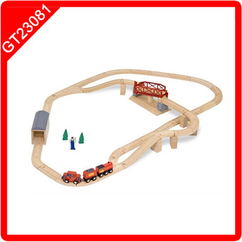 Children S Train Set 83pcs Railway Train Playing Set With Table Buy Children S Train Set Wooden Train Toy Wooden Mini Toy Train Product On