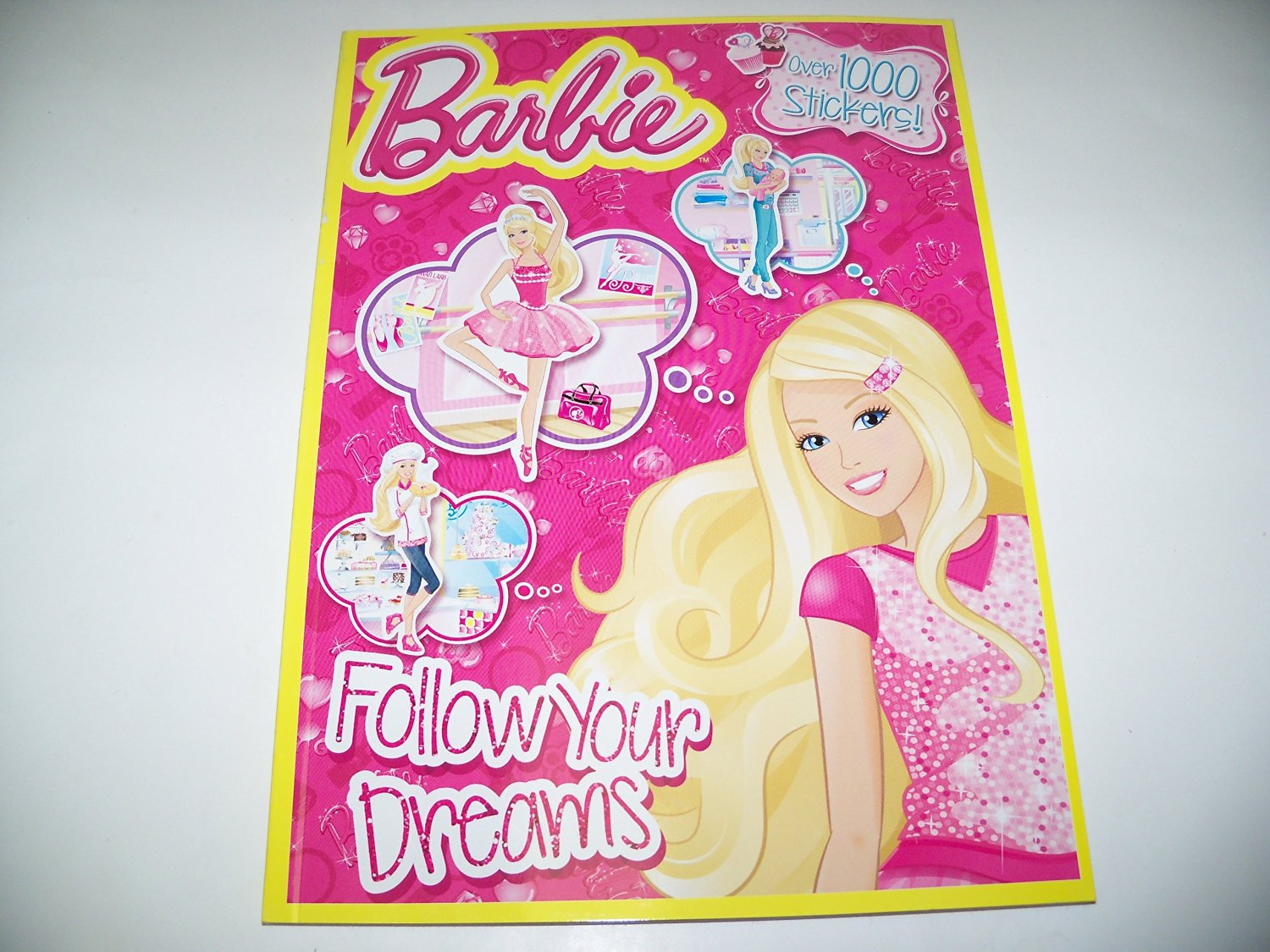Buy Barbie Follow Your Dreams Coloring and Activity Book with Over ...