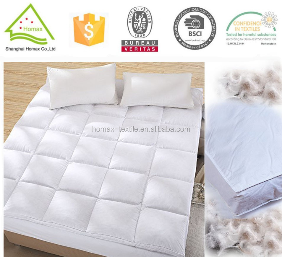 hospital bed mattress toppers, duck feather mattress topper - Hospital Bed Mattress Toppers,Duck Feather Mattress Topper - Buy