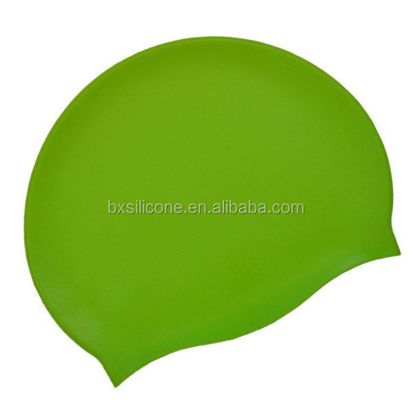 Popular antique customized printed silicone swim caps