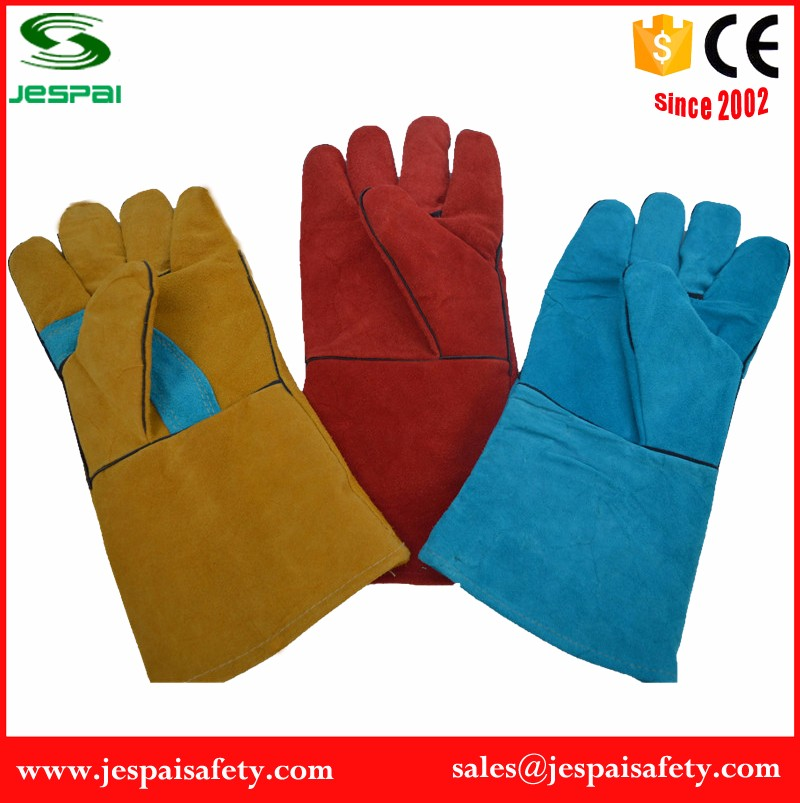 Safety Hand Protection Work Gloves Leather Work Welding Gloves ...