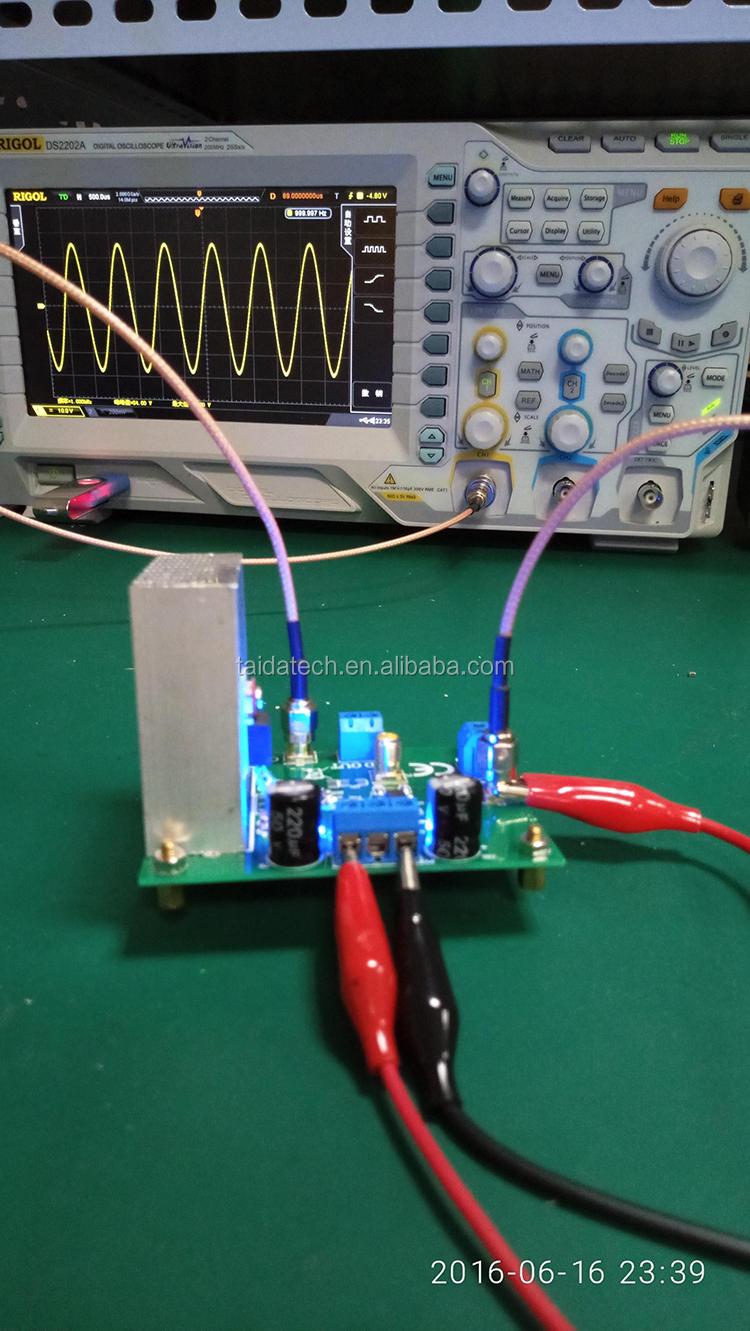 Taidacent 두-stage Signal Output lm1875 Audio 증폭기 55 V Peak Motor Drive 힘 증폭기 Board 관 힘 Amp stereo Amp