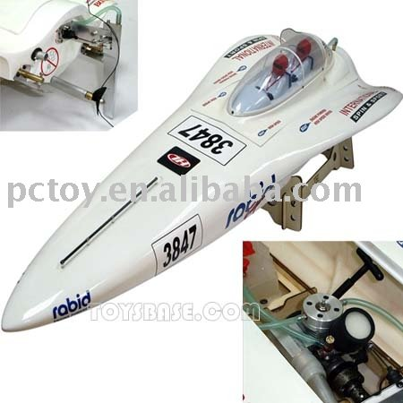 RC Nitro Hobby model speed Boat RZH67059