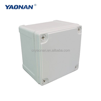 Custom Ip65, Ip68 Pvc Abs Cable In Ground Outdoor Hinged Plastic Electronic Enclosure/ Instrument Waterproof Junction Box Price